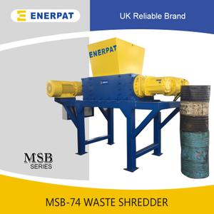 双轴撕碎机(MSB-E1500)-主要出口欧洲